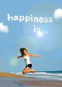 幸せを感じる