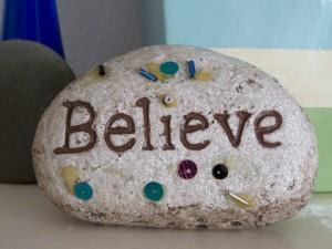 成功を信じる